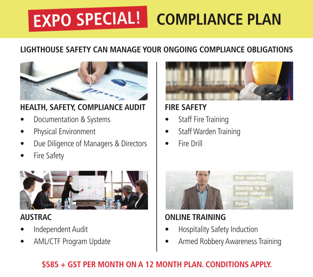 Lighthouse Safety & Compliance AHG EXPO Specials 7th & 8th